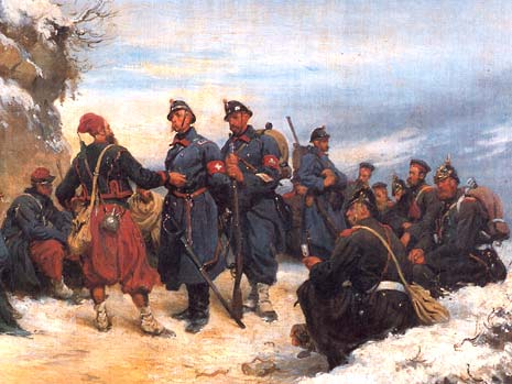 frenchsoldiersofbourbakisarmymeetingwithswisstroopsacrosstheborderbydouardcastres.jpg